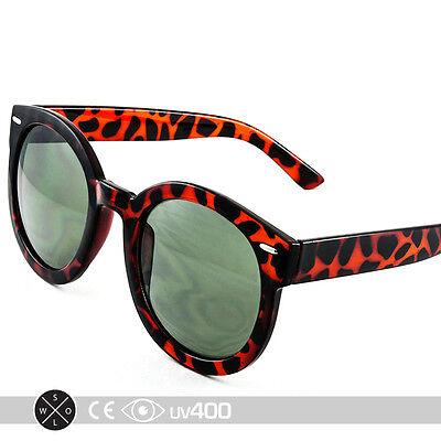 Tortoise Unisex Modern Nostalgic Round Circle Sunglasses P3 Indie Fashion (Nostalgic Sunglasses)