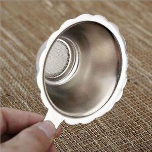 Stainless Steel Mesh Tea Infuser Cup Silver Strainer Loose Tea Leaf Filter Sieve
