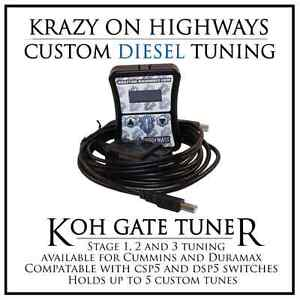 KOH Gate Tuner for Dodge Cummins and GM/Chevy Diesel Pickups