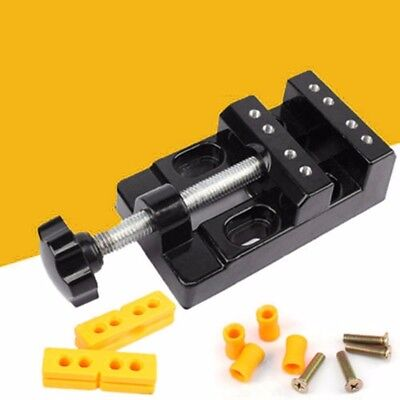 Parallel Clamp Bench (Jaw Bench Clamp Drill Press Vice Opening Parallel Creative Mini Table Vise DIY # )