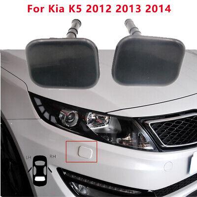 For Kia K5 2012-2014  Front RH & LH Head Light Lamp Washer Spray Cap Jet Cover