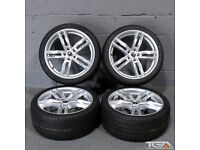 """New 19"""" Silver RS6-C Style Alloys for an Audi B8 & B9 Audi A4"""