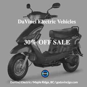SALE! Electric Bikes and Scooters SALE!