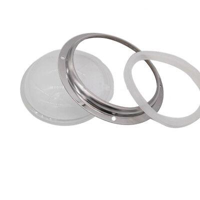 100mm Glass Lensreflectorholder Bracket Case Kit For 200w300w500w Led Light