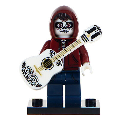 Miguel - Coco Inspired Film Lego Moc Minifigure, Skeleton Form