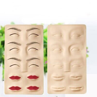 3D Eyebrow Lips Training Skin Permanent Makeup Fake Skin Tattoo Practice Craft - Skin Fake