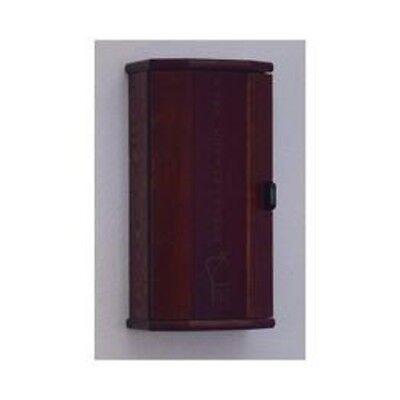 Wooden Mallet Fire Extinguisher Cabinet - 10 Lb. Capacity Mahogany- Fec20mh New