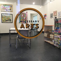 Downtown Co-working Art Studio, Workshop space and Gallery