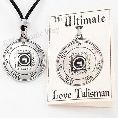 Solomon Seal Talisman Necklace Magic LOVE AMULET Power Pentacle of Venus -