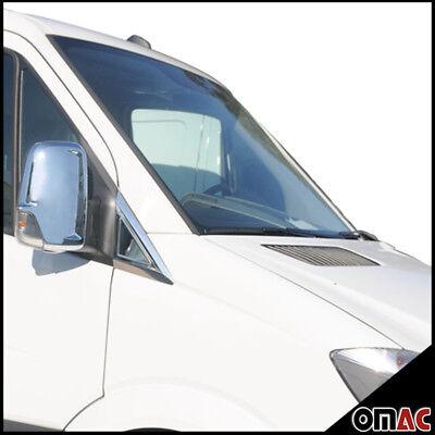 MERCEDES DODGE SPRINTER W906 2006- Chrome Side Mirror Cover Guard Cap Trim 2pcs