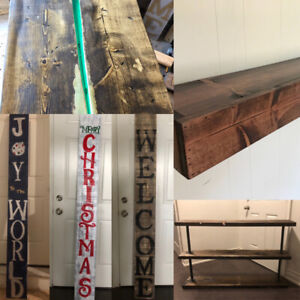Custom wood shelving and much more!!!