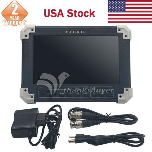 """7"""" CD CVBS+TVI+AHD+VGA+HDMI Camera Video Test Tester X42TAC V5.5 US STOCK"""