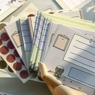 Kawaii Memo Pad Bookmark Planner Papers Stickers Sticky Notes Stationery Notepad