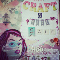 ART,CRAFT AND BAKE SALE- VENDORS WANTED
