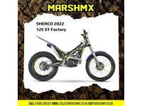 Sherco ST 125 Factory 2022 Model - Nil Deposit Finance Available