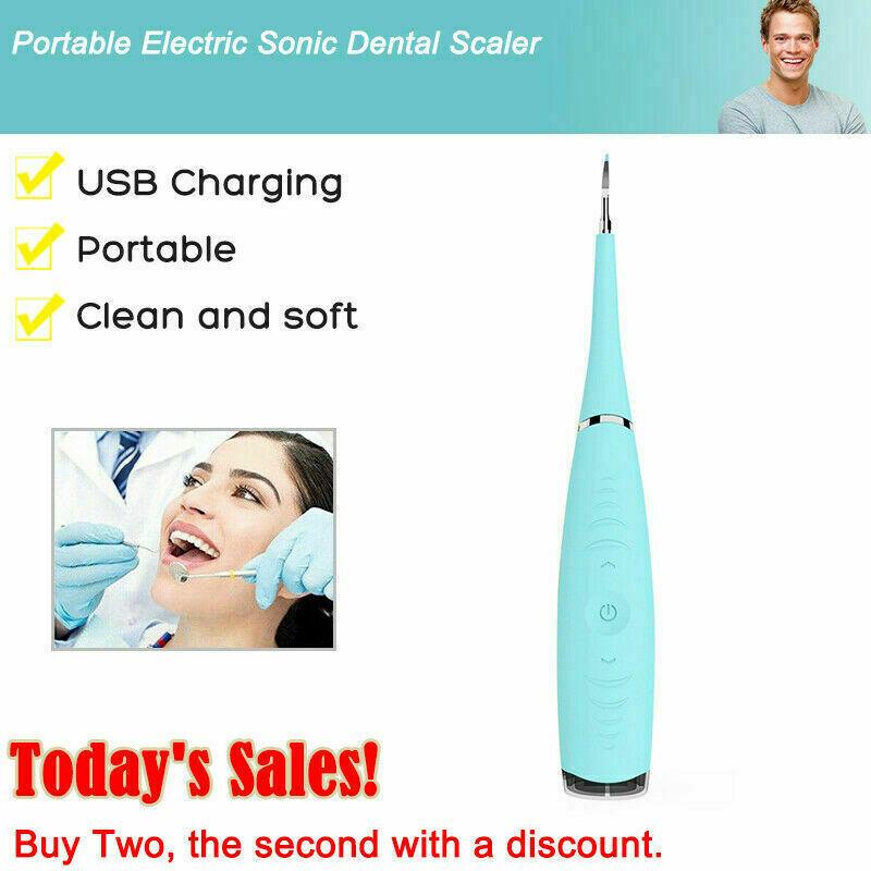 CleanOral Ultrasonic Tooth Cleaner [-75%]
