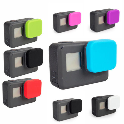 Soft Silicone Protective Lens Cap Cover Case Skin for GoPro Hero 5 6 Camera New