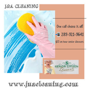 J&A CLEANING ~One Call Cleans it All!