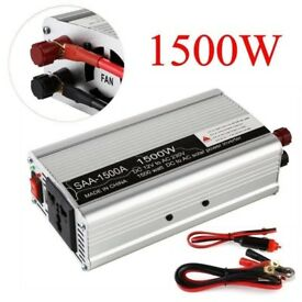 power inverter 1500w for acid battery 50% off