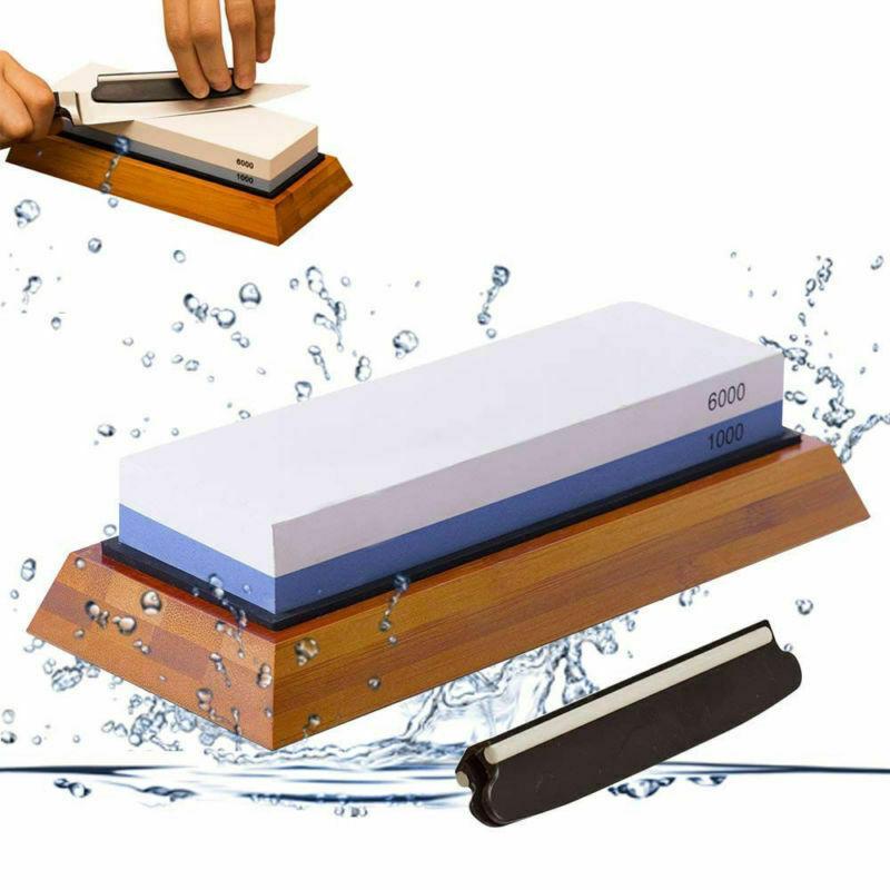 Japanischer Wasserstein Schärfstein Abziehstein Messerschärfer 1000//6000 348700