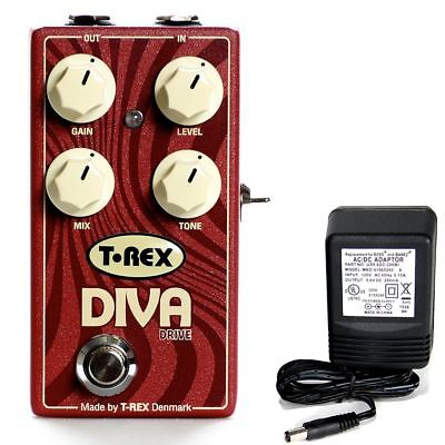 T-Rex Diva Drive overdrive pedal w/ 9v power supply