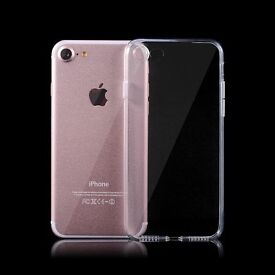 Wholesale Job Lot Bulk Clear Gel TPU Thin Cases for iPhone 7 Brand New UK GREAT FOR RESALE