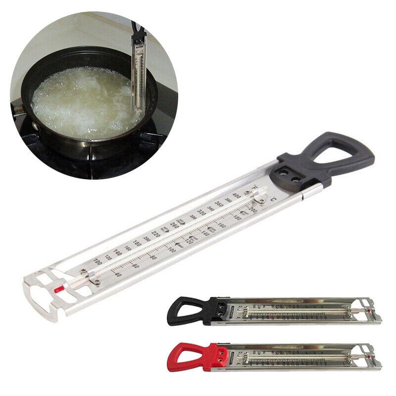 Zuckerthermometer Thermometer Küche 40-200C° Einkochthermometer Edelstahl AP