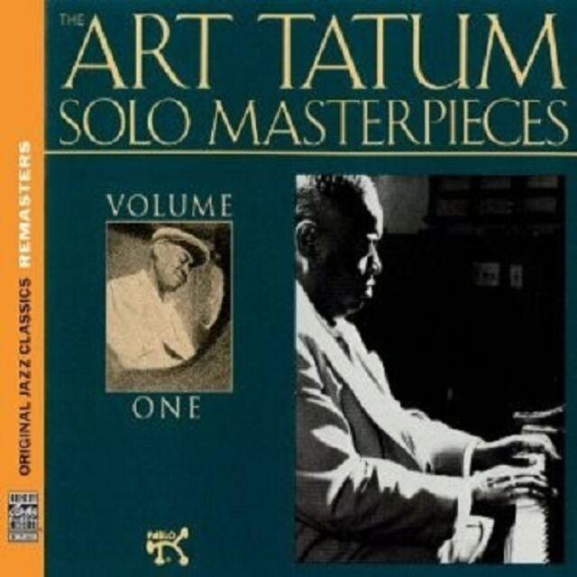 ART TATUM - SOLO MASTERPIECES VOL.1 (OJC REMASTERS)  CD NEU