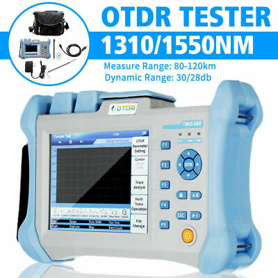 5.6inch Touch Screen Otdr Tester 80-120km 13101550nm Integrated Vfl Measure