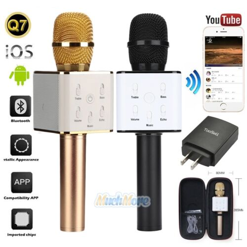 Q7 Handheld KTV Microphone Wireless Bluetooth Karaoke Singin