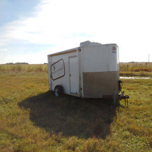 6' x 14' Air conditioned Cargo trailer.  Many modifications!!