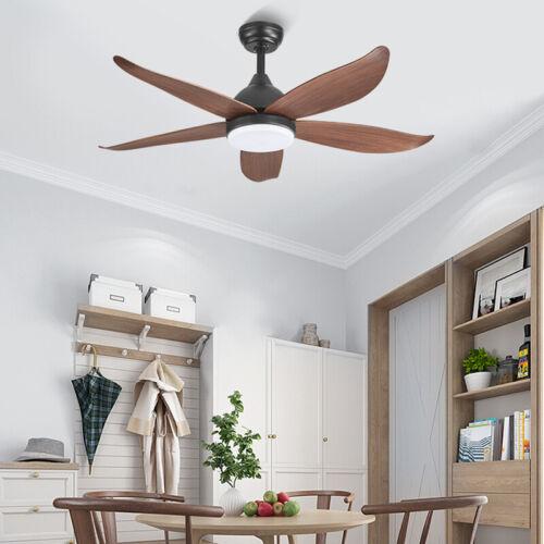 """46"""" Chandelier Wooden Ceiling Fan w/LED Light Remote Reversi"""