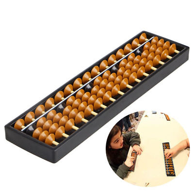15 Digits Plastic Abacus Arithmetic Tool Kid's Math Learn Aid Caculating Toys for sale  China