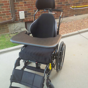 Tilt/recline wheelchair