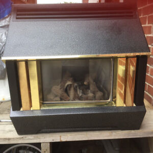 Valor Home Flame gas fireplace Vent to Chimney