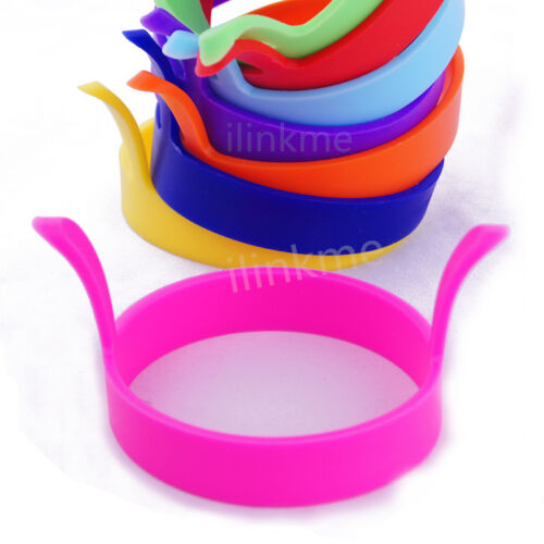 2 Kitchen Cooking Silicone Fried Oven Poacher ...