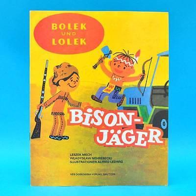 DDR   Lolek und Bolek   Bison-Jäger   Comic   Domowina Verlag 1985 M