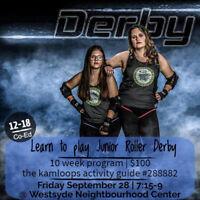 Junior Roller Derby Free Try-it Night!