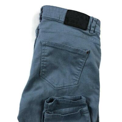 Zara Trafaluc Womens 6 Blue Skinny Stretch Cropped Jeans