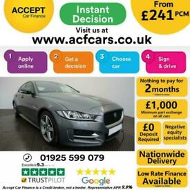 image for 2017 GREY JAGUAR XE 2.0 D 180 R SPORT DIESEL SALOON CAR FINANCE FR £241 PCM