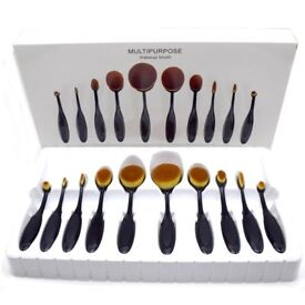 U-BEAUTY 10PC/TOOTHBRUSH OVAL BRUSHES Set
