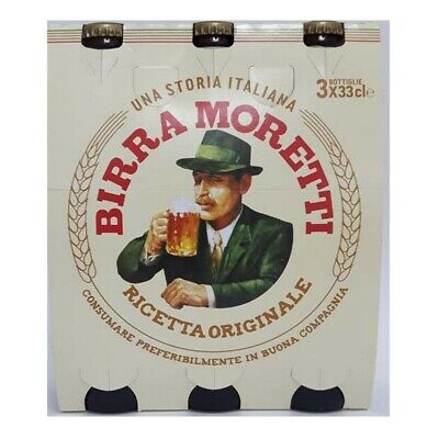 Birra MORETTI RICETTA ORIGINALE 33 CL X24PZ