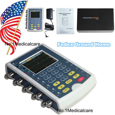 Ms400 Patient Simulator Ecg Multi-parameter Monitor Touch Screen Fedex Usa