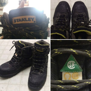 Work Boots/ Stanley/ size 8/ CSA approved