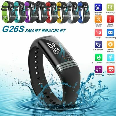 Color Screen Smart Watch Band Blood Pressure Fitness Tracker Activity Sports