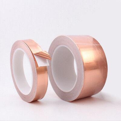 0.06mm5mm20m Copper Foil Tape Conductive Self Adhesive Heat Insulation