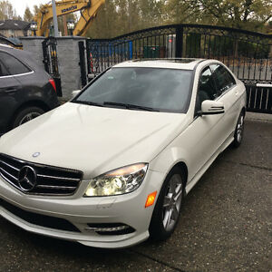 2011 Mercedes C300 4 Matic
