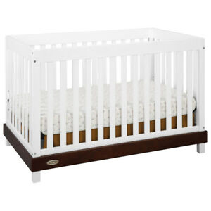 *new* Graco Maddox 3-in-1 Convertible Crib - White