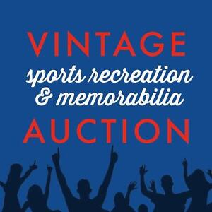 Sports Collectibles, Memorabilia - Cards, Autographs, Merch & MORE! Online Auction Ends Thursday At PM!