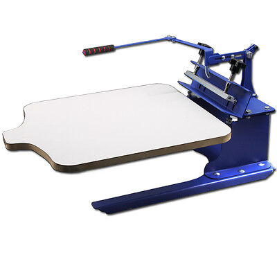1 Color 1 Station Silk T-shirt Screen Printing Machine Diy Fabric Press